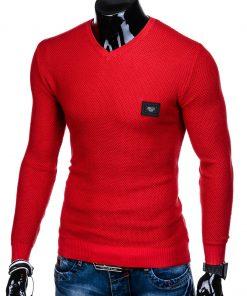 Raudonas vyriskas megztinis internetu pigiau E147 11649-3