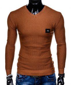 Rudas vyriškas megztinis internetu pigiau Vors E147 11652-2