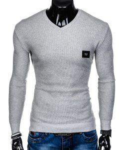 Pilkas vyriškas megztinis internetu pigiau Vors E147 11653-1
