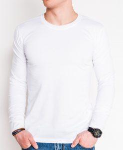 Balti vyriški marškinėliai ilgomis rankovėmis internetu pigiau Hit L112 11995-1