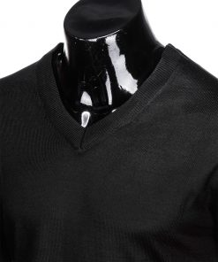 Juodas vyriskas megztinis internetu pigiau E151 12136-3