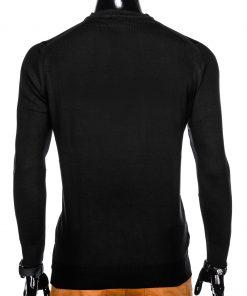 Juodas megztinis vyrams internetu pigiau E151 12136-4