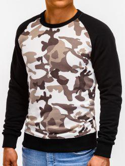 Smėlio kamufliažinis vyriškas džemperis internetu pigiau B920 12204-5