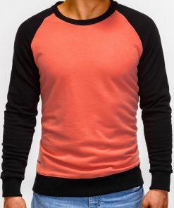 Persikinis vyriškas džemperis internetu pigiau B920 12206-1