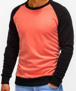 Persikinis džemperis vyrams internetu pigiau B920 12206-4