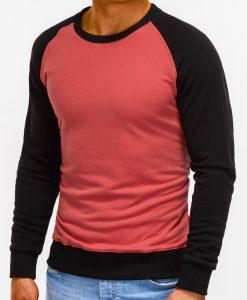 Tamsiai rožinis džemperis vyrams internetu pigiau B920 12207-4
