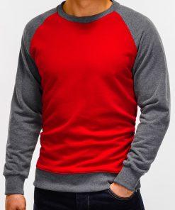 Raudonas džemperis vyrams internetu pigiau B920 12208-5