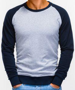 Pilkas vyriškas džemperis internetu pigiau Naz B920 12211-1