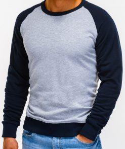 Pilkas džemperis vyrams internetu pigiau Naz B920 12211-4