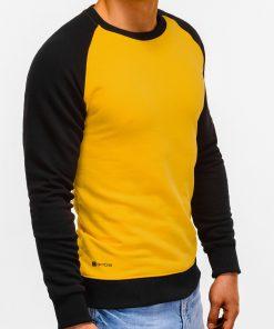 Geltonas vyriškas džemperis internetu pigiau Naz B920 12213-1