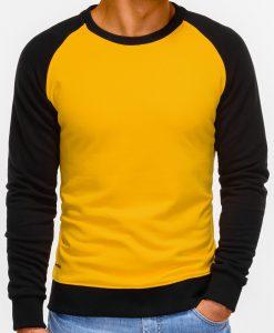 Geltonas džemperis vyrams internetu pigiau Naz B920 12213-5