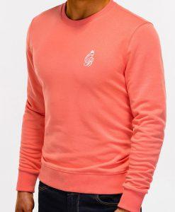 Persikinis džemperis vyrams internetu pigiau B919 12217-4
