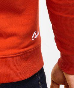 Raudonas vyriskas dzemperis internetu pigiau B919 12218-2