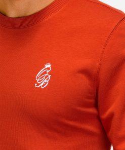 Raudonas dzemperis vyrams internetu pigiau B919 12218-5