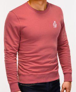 Tamsiai rožinis džemperis vyrams internetu pigiau Kingo B919 12220-2