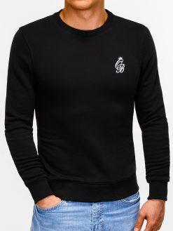 Juodas vyriškas džemperis internetu pigiau B919 12221-5