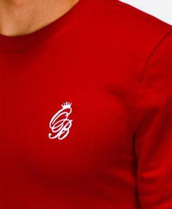 Raudonas dzemperis vyrams internetu pigiau B919 12222-1