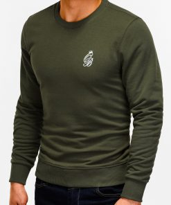 Chaki džemperis vyrams internetu pigiau Kingo B919 12226-5