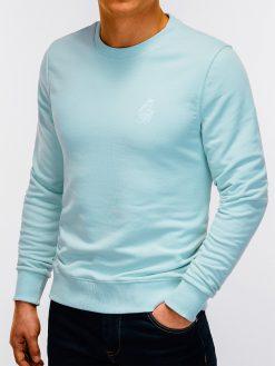 Mėtinis vyriškas džemperis internetu pigiau B919 12227-6
