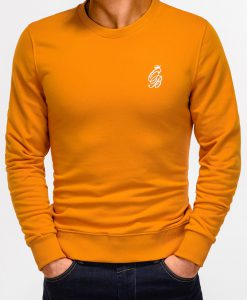 Oranžinis džemperis vyrams internetu pigiau Kingo B919 12228-3