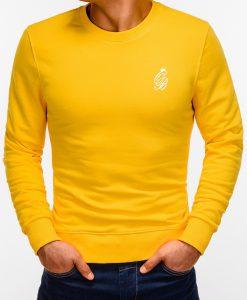 Geltonas vyriškas džemperis internetu pigiau B919 12232-3