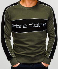 Chaki džemperis vyrams internetu pigiau Clot B922 12245-2