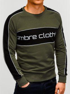 Chaki vyriškas džemperis internetu pigiau Clot B922 12245-4