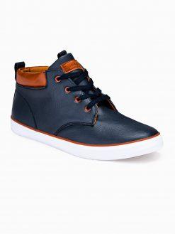 Tamsiai mėlyni laisvalaikio batai vyrams internetu pigiau Jugo T307 12399-4