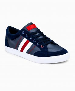 Tamsiai mėlyni laisvalaikio batai vyrams internetu pigiau T306 12406-5