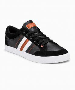 Juodi laisvalaikio batai vyrams internetu pigiau T306 12407-2