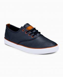 Tamsiai mėlyni laisvalaikio batai vyrams internetu pigiau T305 12414-7