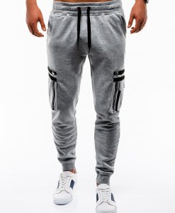 Pilkos vyriškos sportinės kelnės internetu pigiau Maza P732 12555-5