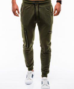 Stilingos chaki vyriškos sportinės kelnės internetu pigiau P733 12557-1