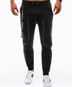 Juodos vyriškos sportinės kelnės internetu pigiau Loft P735 12567-1