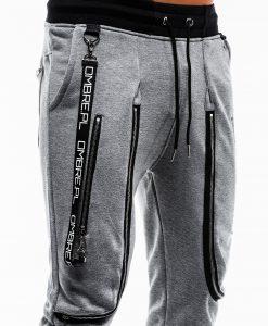 Tamsiai pilkos sportines kelnes vyrams internetu pigiau Loft P735 12568-5
