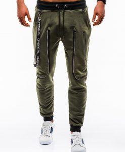 Chaki sportinės kelnės vyrams internetu pigiau P735 12570-1