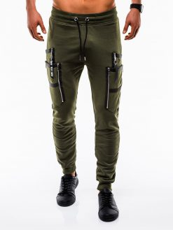 Stilingos chaki vyriškos sportinės kelnės internetu pigiau P739 12583-1