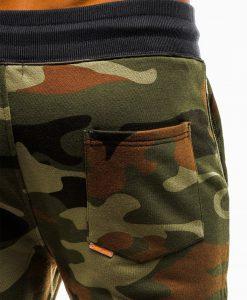 Zalios kamufliazines vyriskos sportines stilingos kelnes vyrams treningines internetu pigiau Frist P820 12599-4
