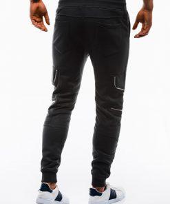 Stilingos juodos laisvalaikio kelnes vyrams internetu pigiau P822 12604-3