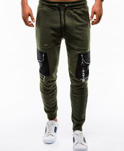 Stilingos chaki sportines kelnes vyrams internetu pigiau P822 12606-5