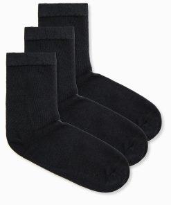 Juodos vyriškos kojinės 3 vnt. U61 12646-2