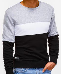 Juodas vyriškas džemperis internetu B925 12772-3