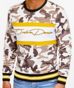 Smėlio kamufliažinis vyriškas džemperis internetu pigiau B933 12815-2