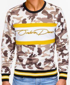 Smėlio kamufliažinis džemperis vyrams internetu pigiau B933 12815-4