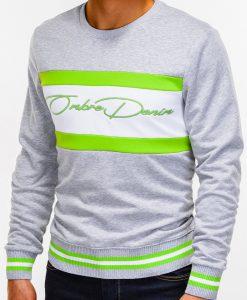 Pilkas vyriškas džemperis internetu pigiau B933 12818-5