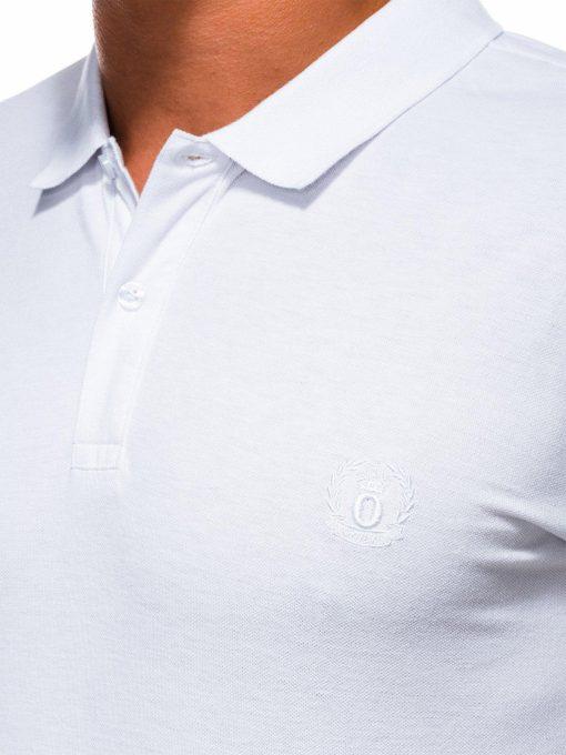 Balti vyriški polo marškinėliai internetu pigiau S1048 13241-1