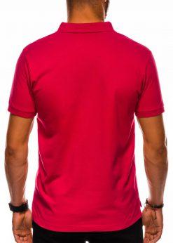 Raudoni vyriski polo marskineliai internetu pigiau S1048 13244-3
