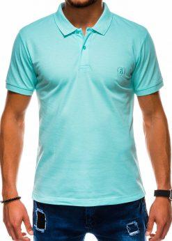 Mėtiniai vyriški polo marškinėliai internetu pigiau S1048 13250-3