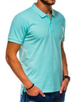 Mėtiniai polo marškinėliai vyrams internetu pigiau S1048 13250-4