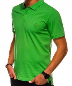 Žali vyriški polo marškinėliai internetu pigiau S1048 13251-3